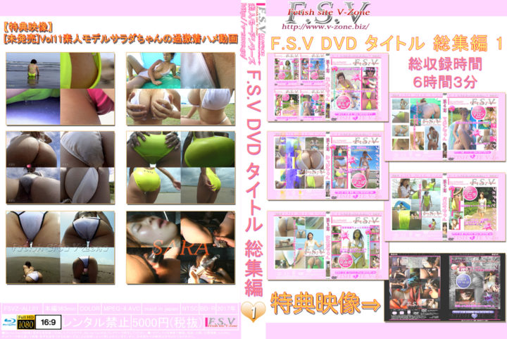 No.01 F.S.V DVD タイトル 総集編 1